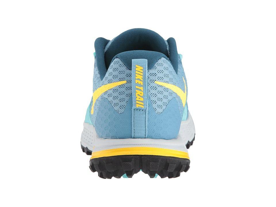 aeeffa39c14 Nike Air Zoom Wildhorse 4 Women s Running Shoes Cerulean Laser  Orange Aurora Green