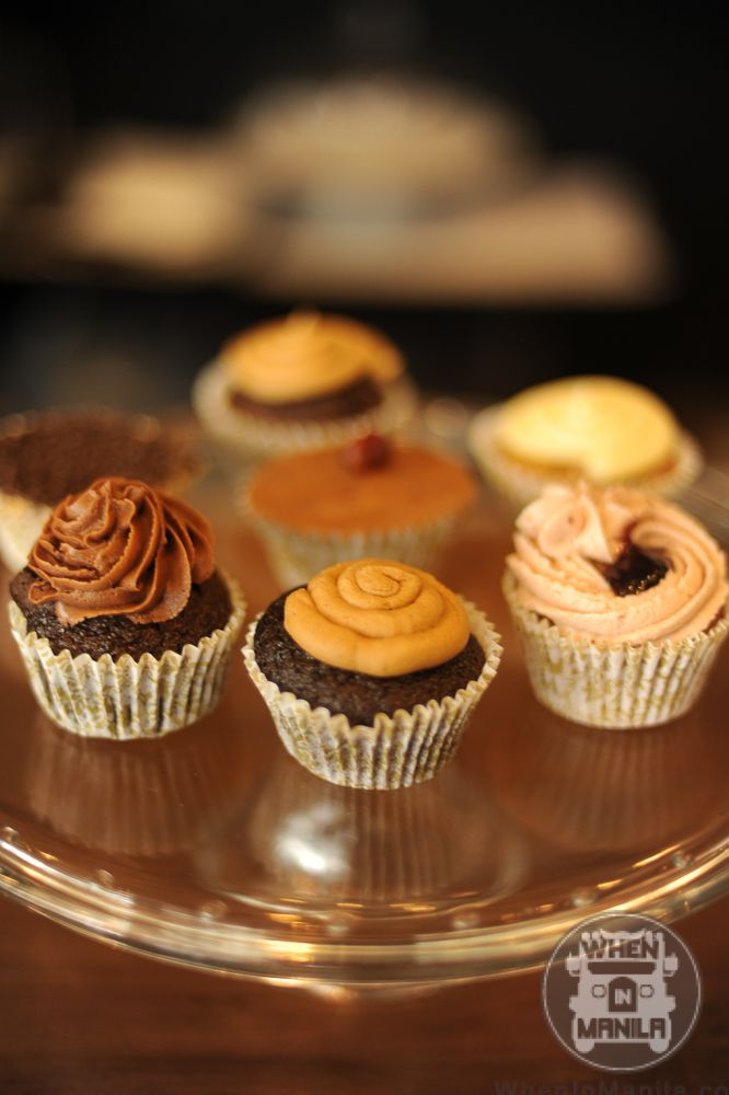 Cupcakes By Sweet Patti Cakes When In Manila Commune Filipino Cafe