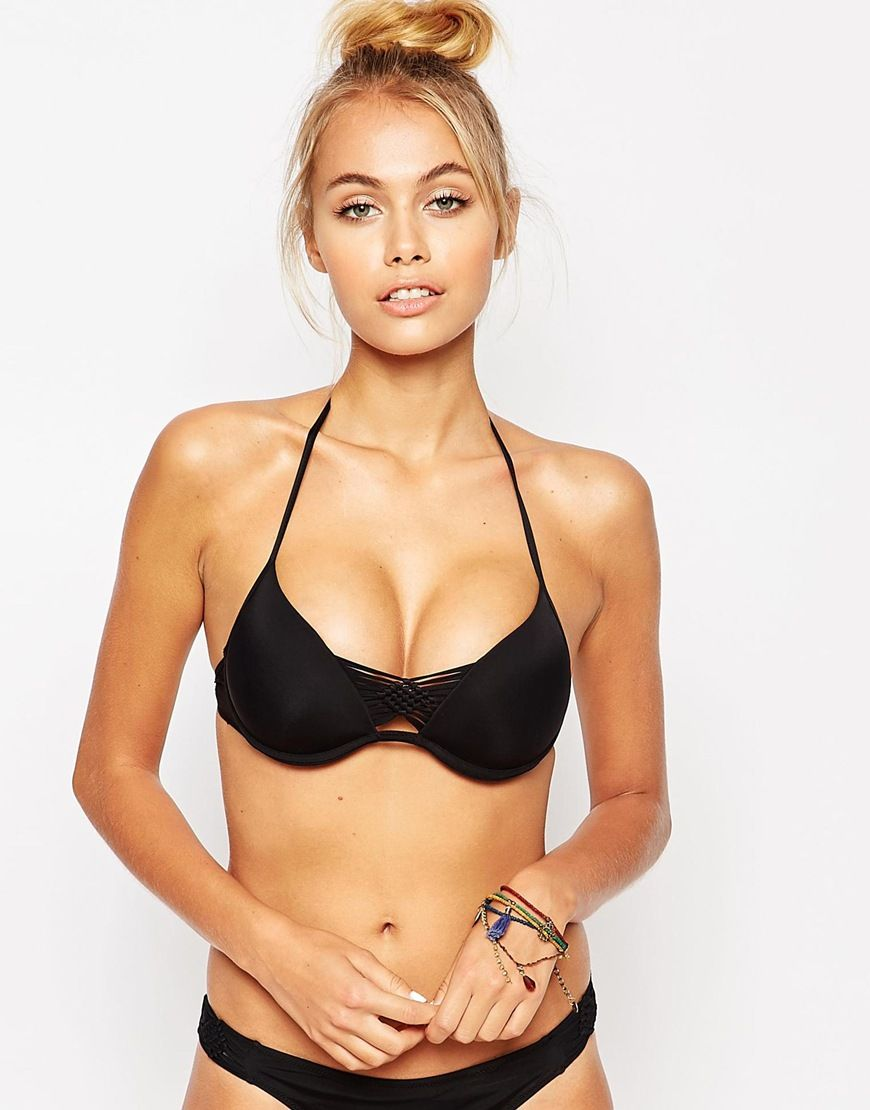 97fefaf49856e Image 1 of Undiz Holliz Push-Up Bikini Top
