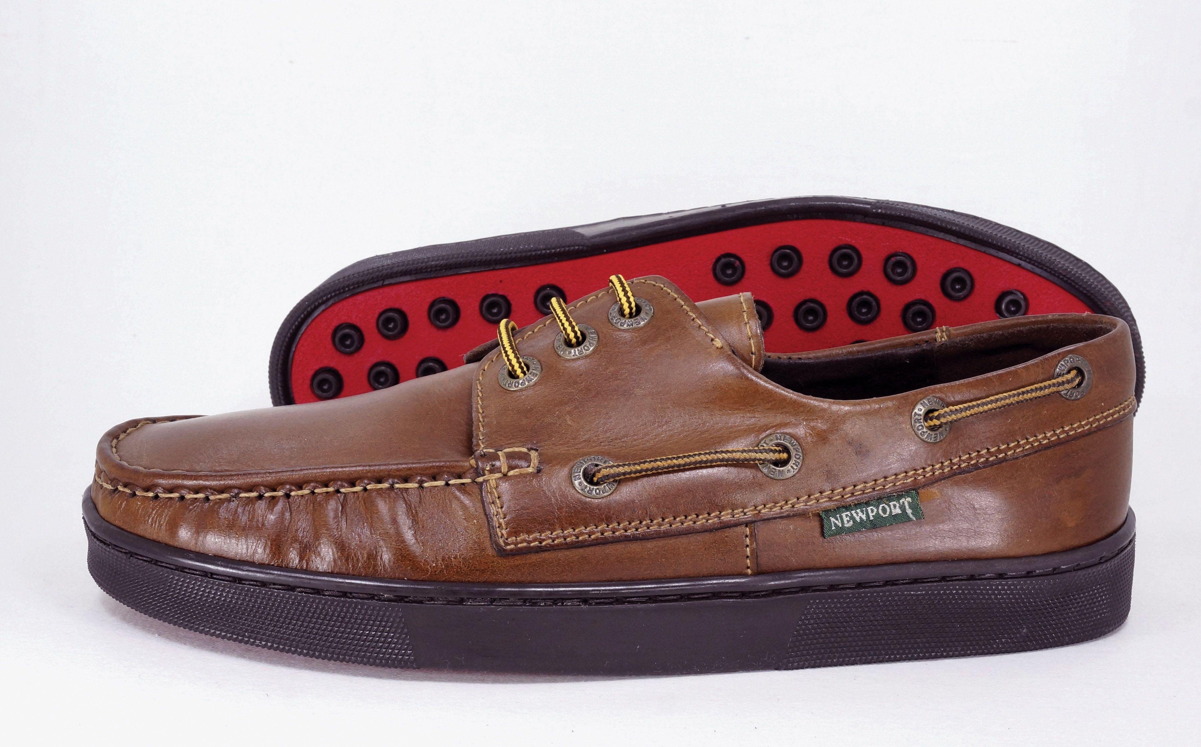 Newport Santiago Mid Brown Handcrafted Genuine Leather Shoes Genuine Leather Shoes Leather Shoes Woman Boots Men