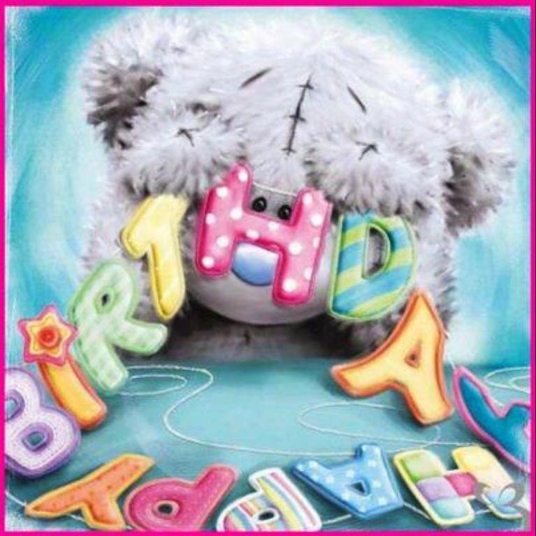 HAPPY BIRTHDAY tjn B rchen Pinterest – Tatty Teddy Birthday Cards