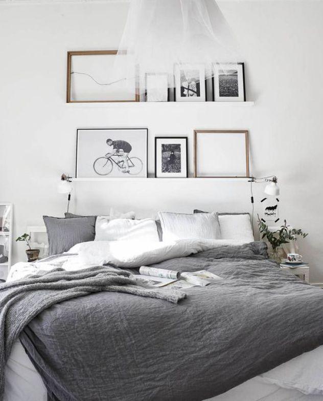 Scandinavische slaapkamers met linnen beddengoed | Bedrooms ...