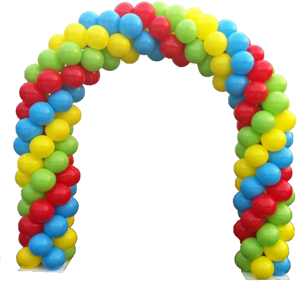 Balloon arch resident appreciation party ideas for Balloon decoration arches