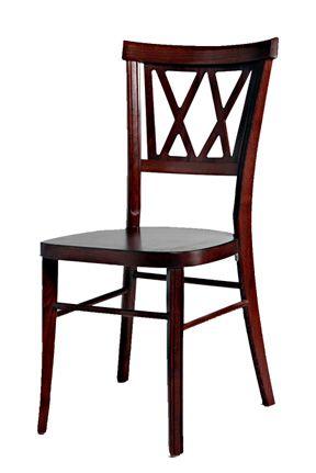 Venice Wood Ballroom Chair, Mahogany. Chairs And Tables R Us