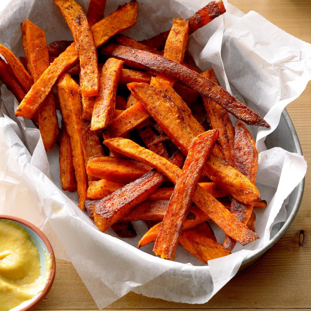 Air Fryer Sweet Potato Fries Recipe Sweet Potato Recipes Fries Air Fryer Sweet Potato Fries Sweet Potato Fries Baked