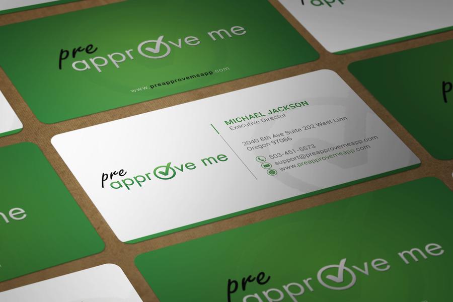 Create a sleek business card design for softwaremobile app company create a sleek business card design for softwaremobile app company by colourmoves
