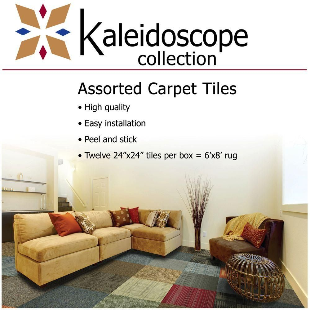 null Kaleidoscope Collection Multicolor Assorted Commercial 24 in ...