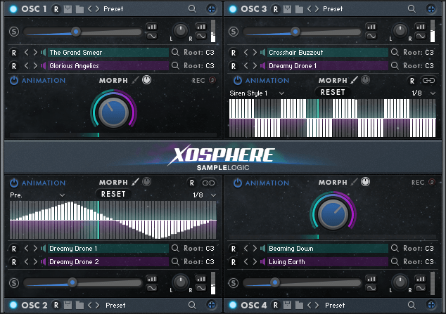 Xosphere | sample library vst for kontakt player | sample