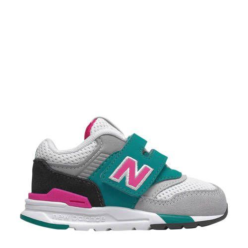 997 sneakers groen/roze/wit - New balance, Blauw en Nieuwe mode