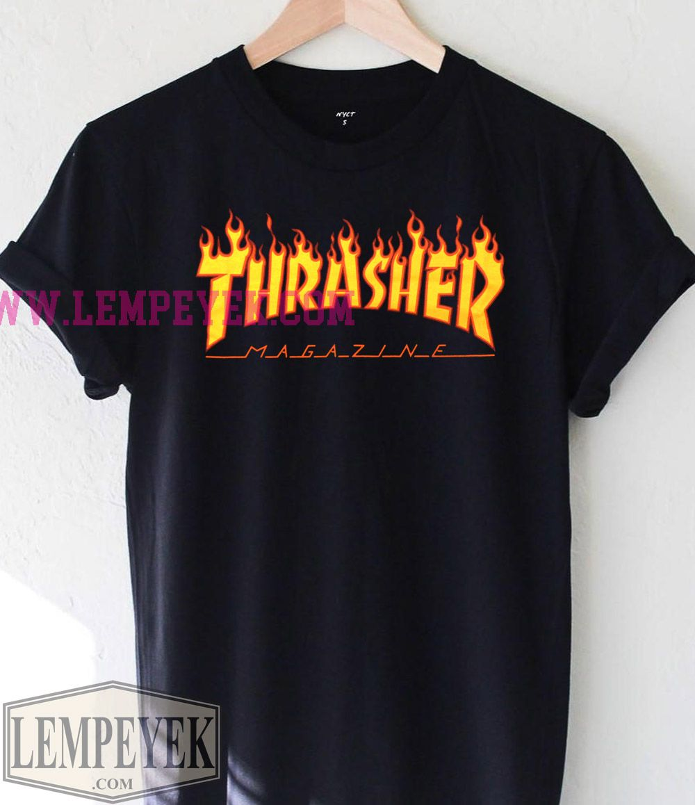 Thrasher Magazine T-shirt Men And Women ec1409db63