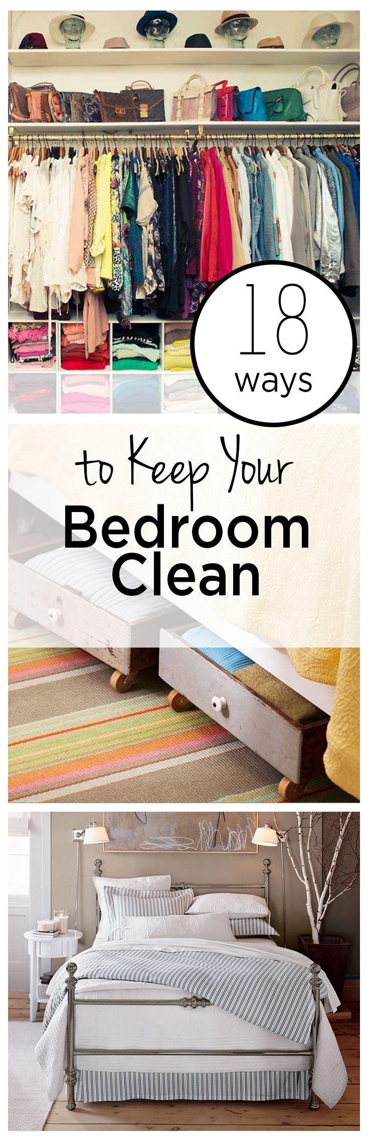 Ways to Keep Your Bedroom Clean clutter, clutter free living, cleaning, cleaning hacks, popular pin, cleaning tips, cleaning utter, clutter free living, cleaning, cleaning hacks, popular pin, cleaning tips, cleaning hacks.