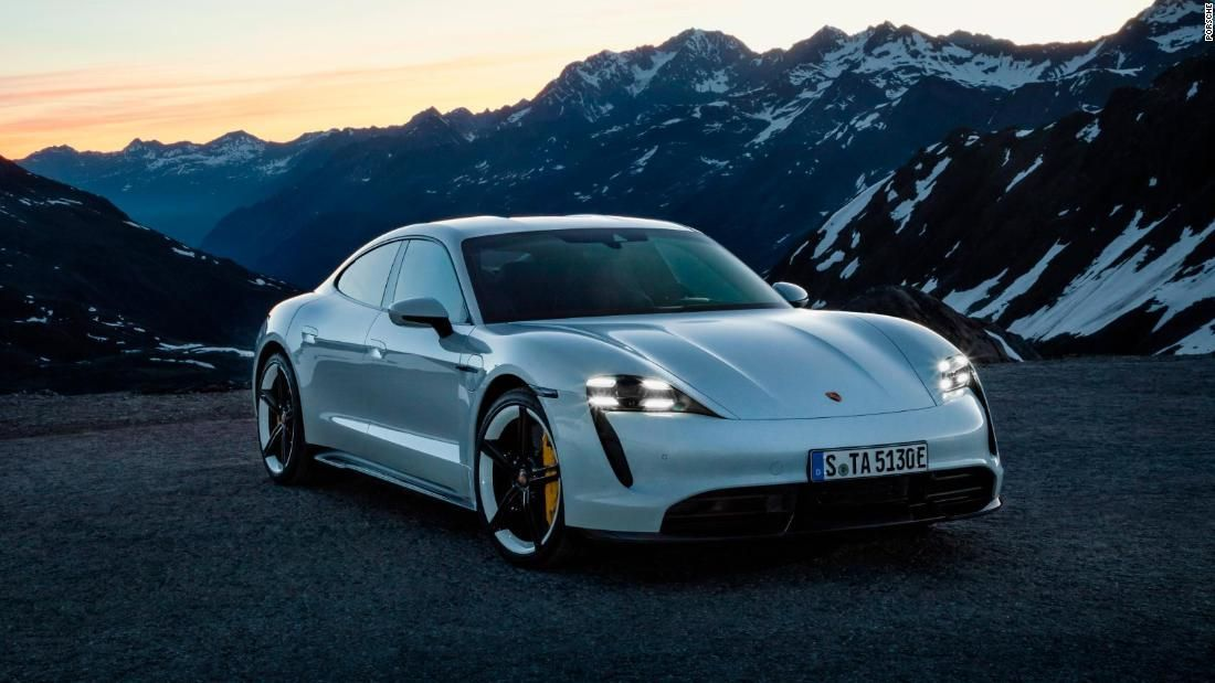 Porsche S First Electric Car Can Go From 0 To 60 Mph In Under 3 Seconds Porsche Taycan Electric Sports Car Best Electric Car