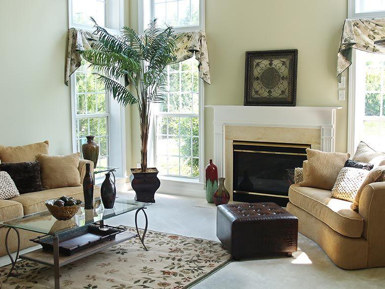 interieur ideeen woonkamer inrichting  PlantenBloemen