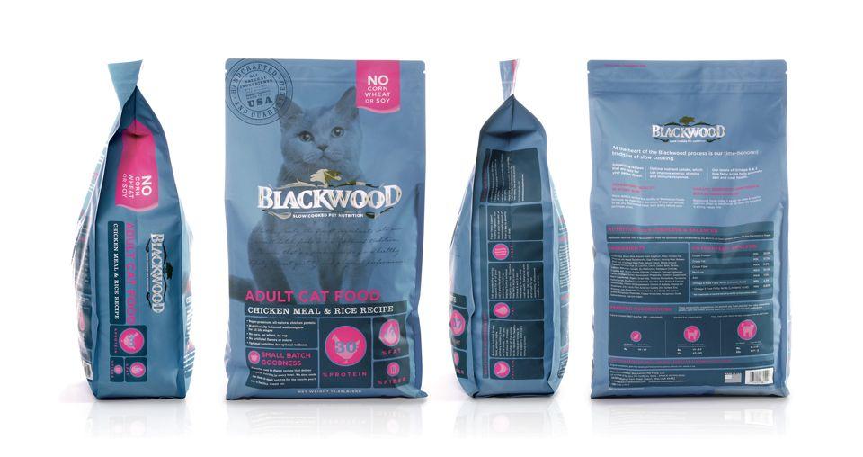 Blackwood cat food cat food pet branding healthy dog