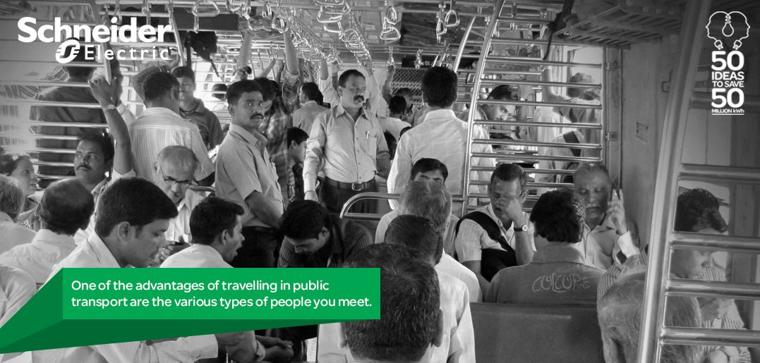 advantages of public transport in india