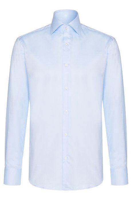 a7b70e9d1 Hugo Boss Cotton Dress Shirt, Regular Fit   Gerald - Light Blue 14.5 ...
