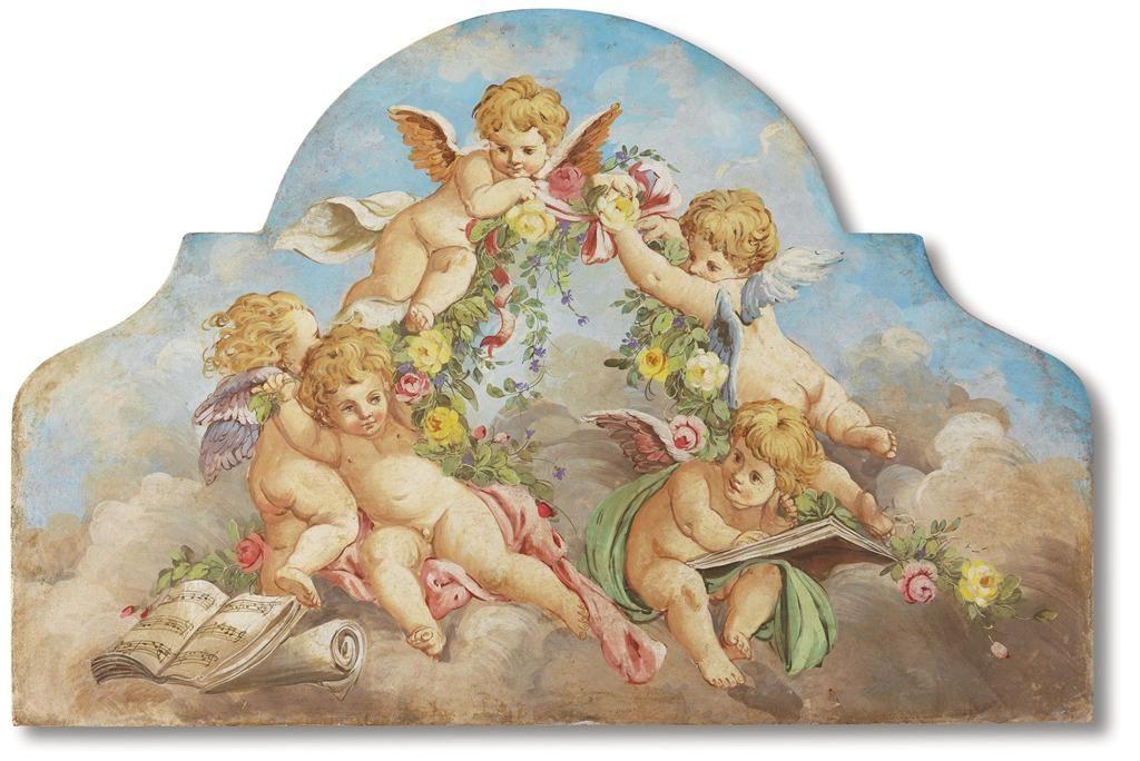 картинки античные ангелочки кого