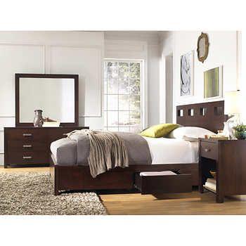 Paxton 48piece King Storage Bedroom Set Bedroom Pinterest Simple Bedroom Set Names Collection