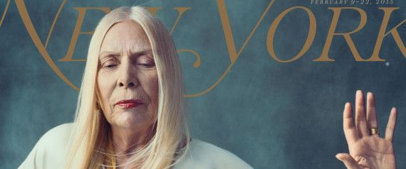 Joni Mitchell Is Ethereal On The Cover Of New York Magazine's Fashion Issue