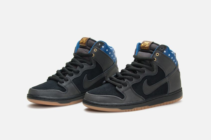 Nike Sb Dunk High 4th Of July Calzas