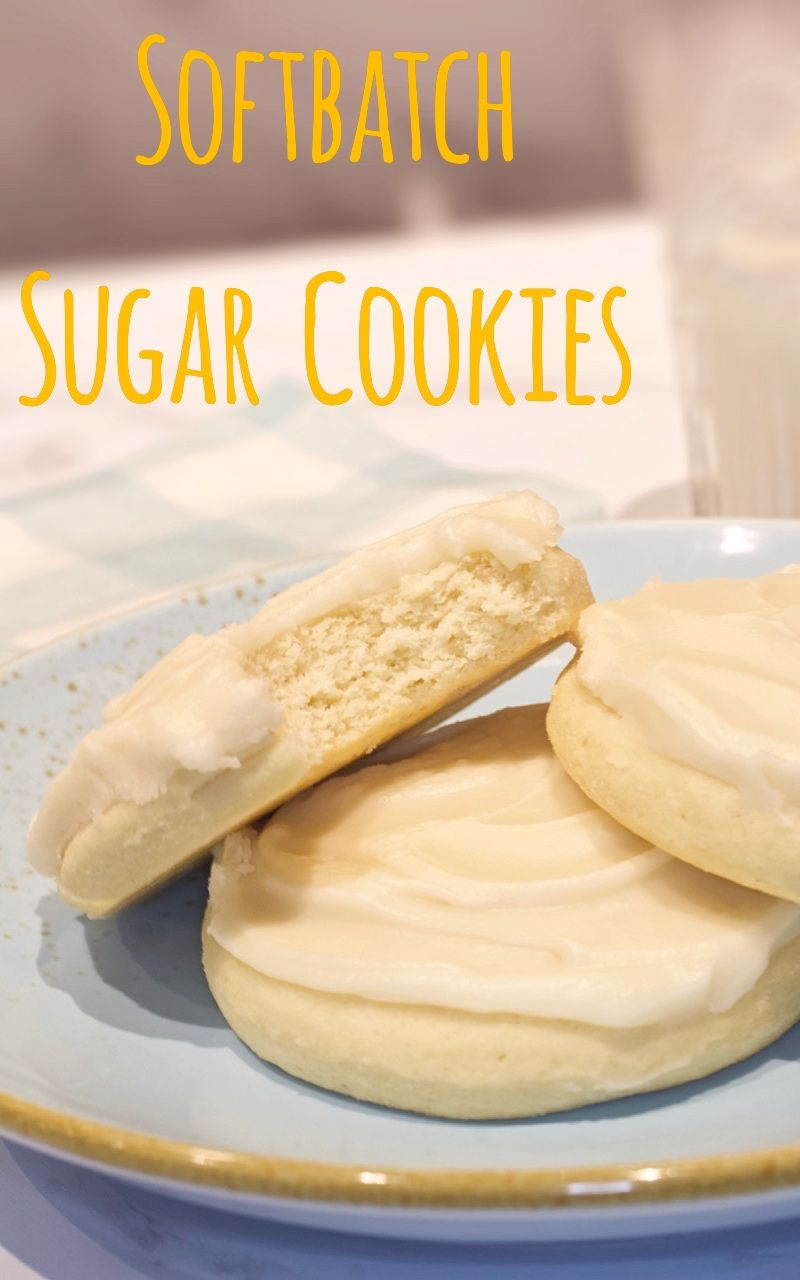 These Softbatch Sugar Cookies are soft & thick and so flavorful and they're finished with a creamy butter icing.  They are simply delicious and perfect for any occasion.  #sugarcookies #cookies #softsugarcookies #softbatchsugarcookies