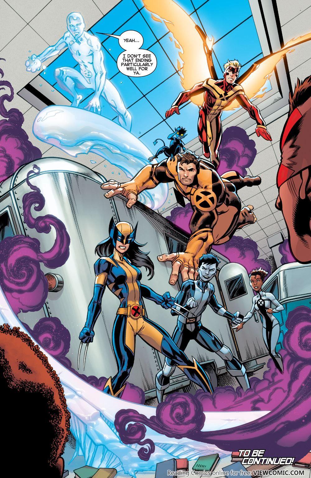 All New X Men V2 001 2016 Viewcomic Reading Comics Online For Free X Men Cartoon Art Styles Marvel Comic Character