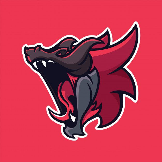 Dragon Mascot Logo Template