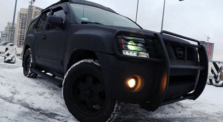 Love How There Is No Shine To This Black Nissan Xterra Matte Black Cars 57 Chevy Trucks