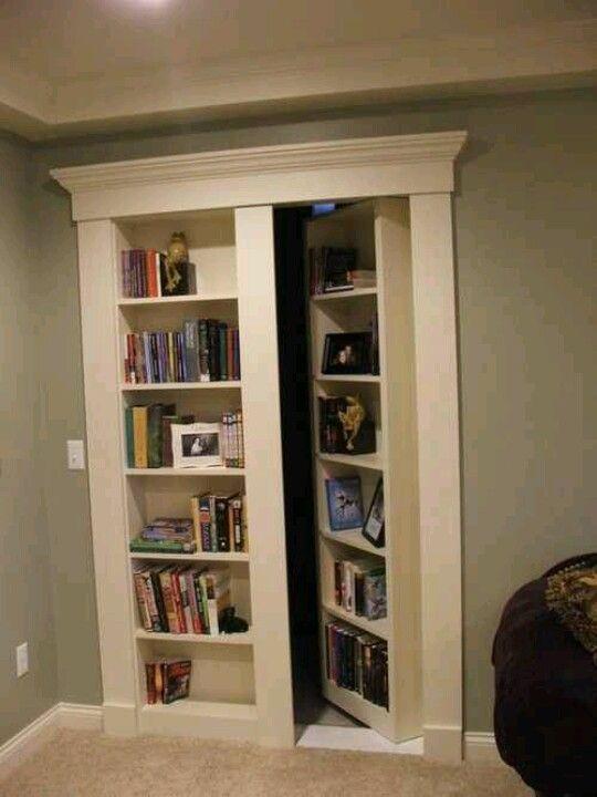 Perfect Decor Pinterest Basements Secret rooms and Room