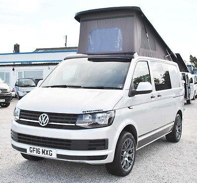 EBay 2016 Volkswagen VW Transporter T6 102 Ps Camper Campervan Brand New Conversion Vwcamper