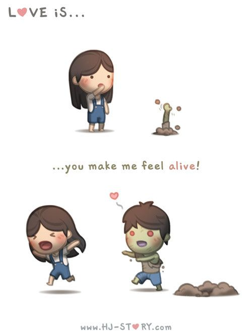 HJ-Story :: Love is... feeling alive! - image 1 Hahah!