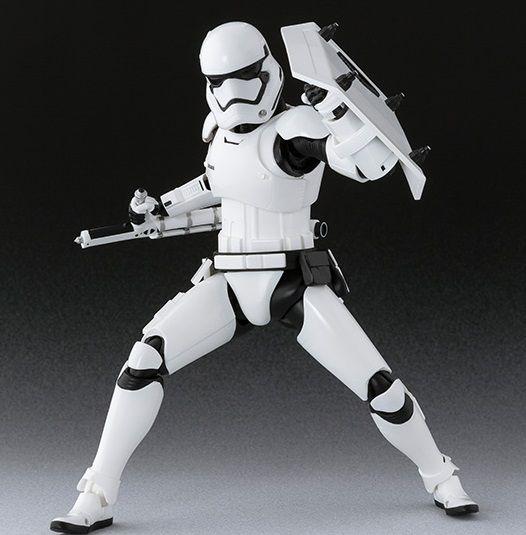 S.H.Figuarts Star Wars The Last Jedi FIRST ORDER EXECUTIONER Figure BANDAI w//tr#