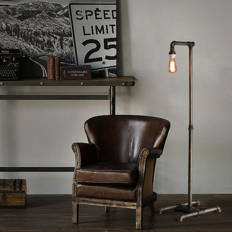 Light Rail Picture More Detailed Picture About Retro Industrial Floor Lamp Iron Art Creat Industrial Floor Lamps Industrial Flooring Wrought Iron Floor Lamps