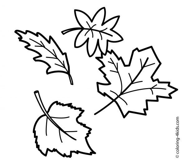 Free Printable Fall Leaf Coloring Pages | Fall coloring ...