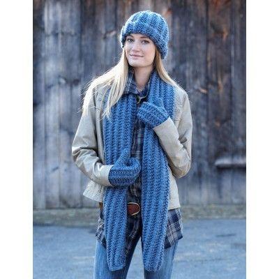 Knitting Patterns Free Links Scarf Mittens Hat Free Knitting
