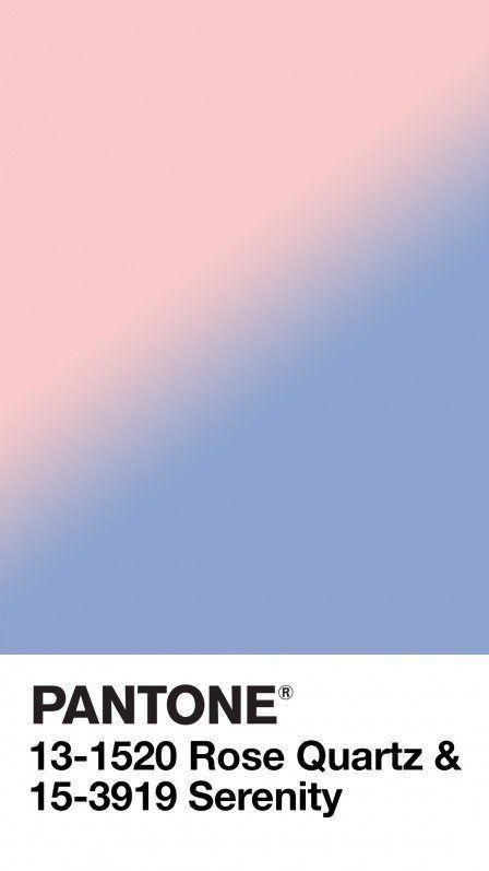 rose quartz et bleu serenity sacr es couleurs de 2016 par pantone actualit mode 616978. Black Bedroom Furniture Sets. Home Design Ideas