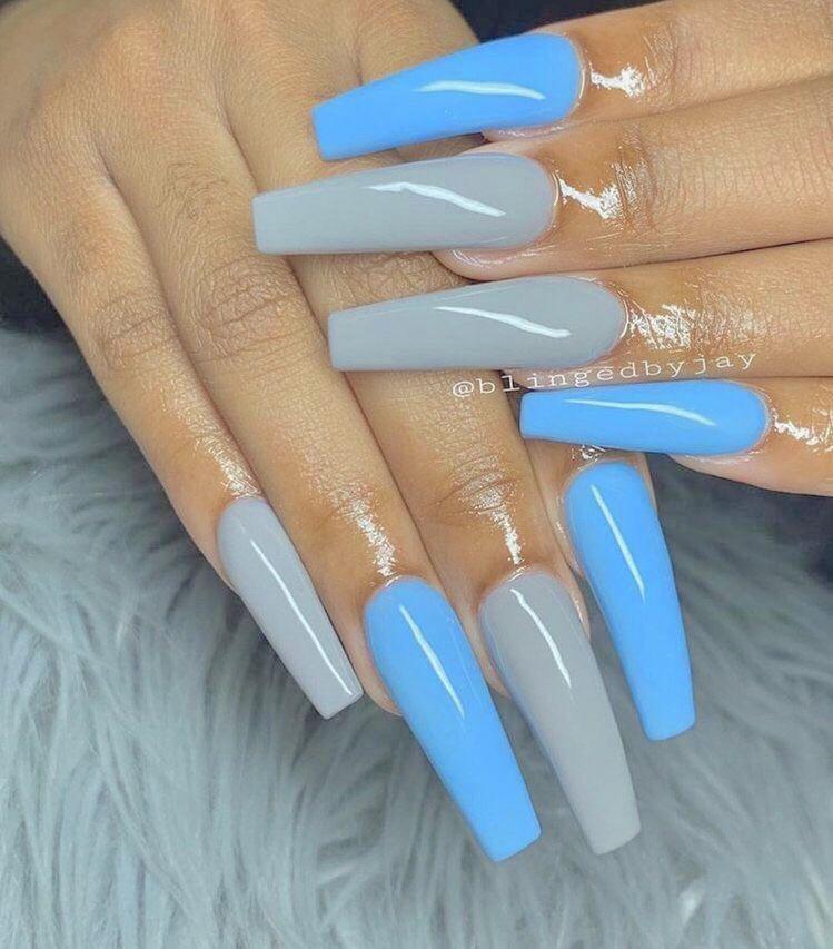 xbrattt 🐣💖 Long acrylic nails, Perfect nails, Halloween