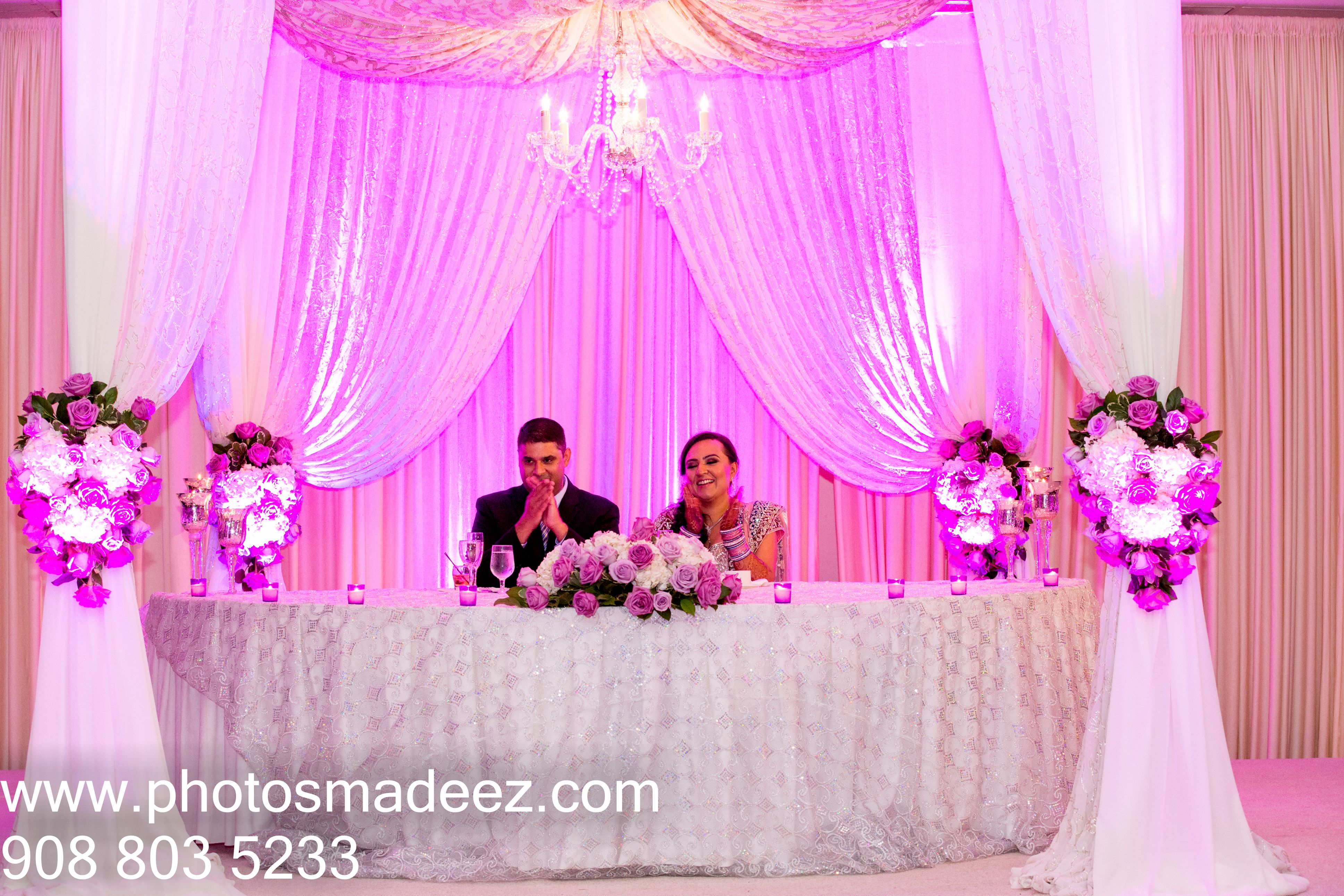 Indian Wedding Reception at Sheraton Parsippany, NJ. Punjabi Wedding ...