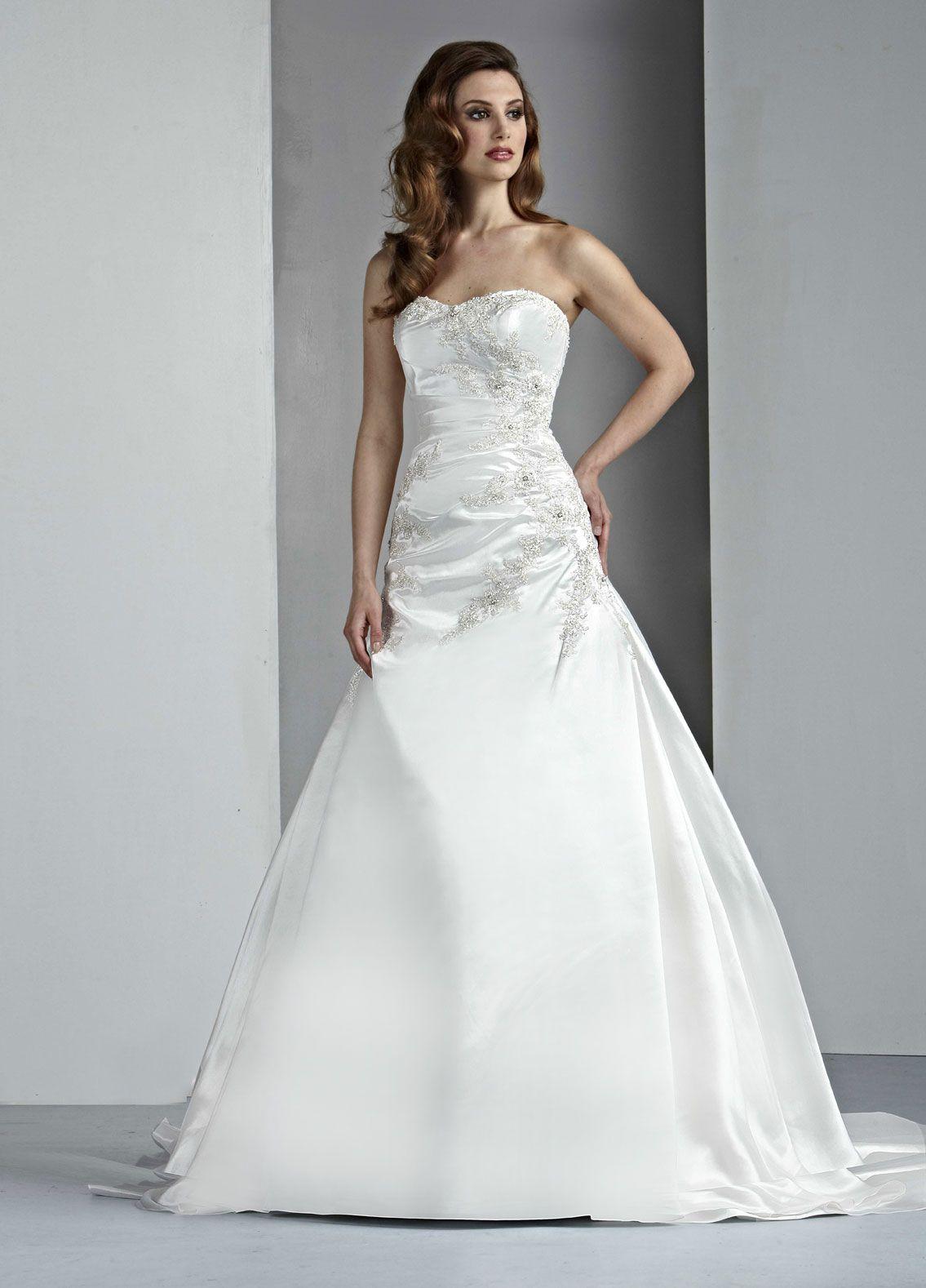 Da Vinci Bridal Style 50033 | wedding dresses | Pinterest | Bridal ...