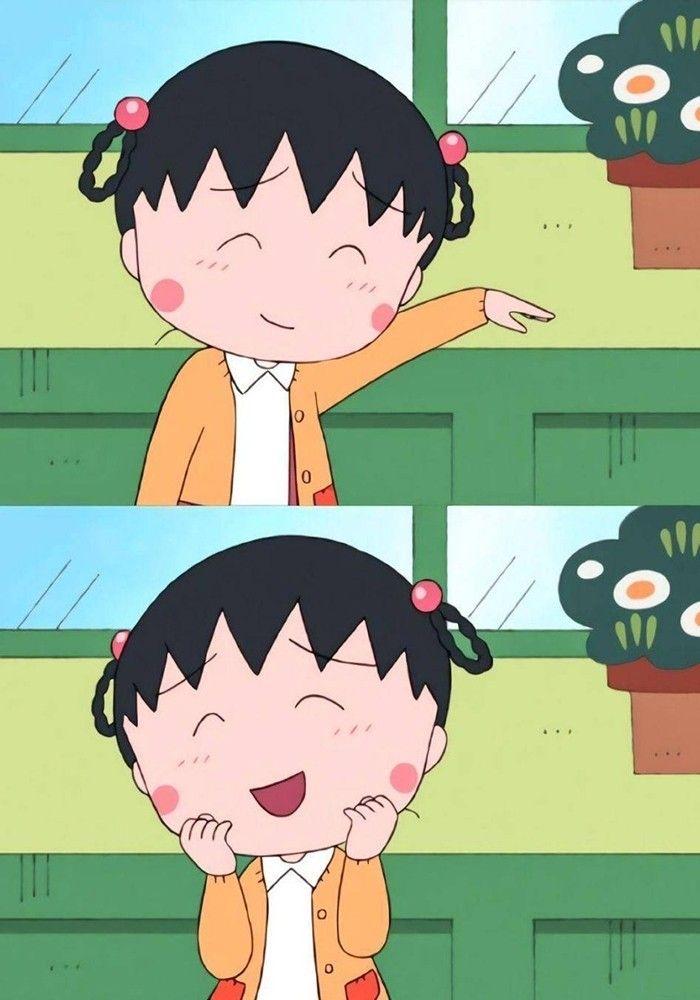 Pin oleh CH Liew di chibi maruko chan Kartun, Animasi