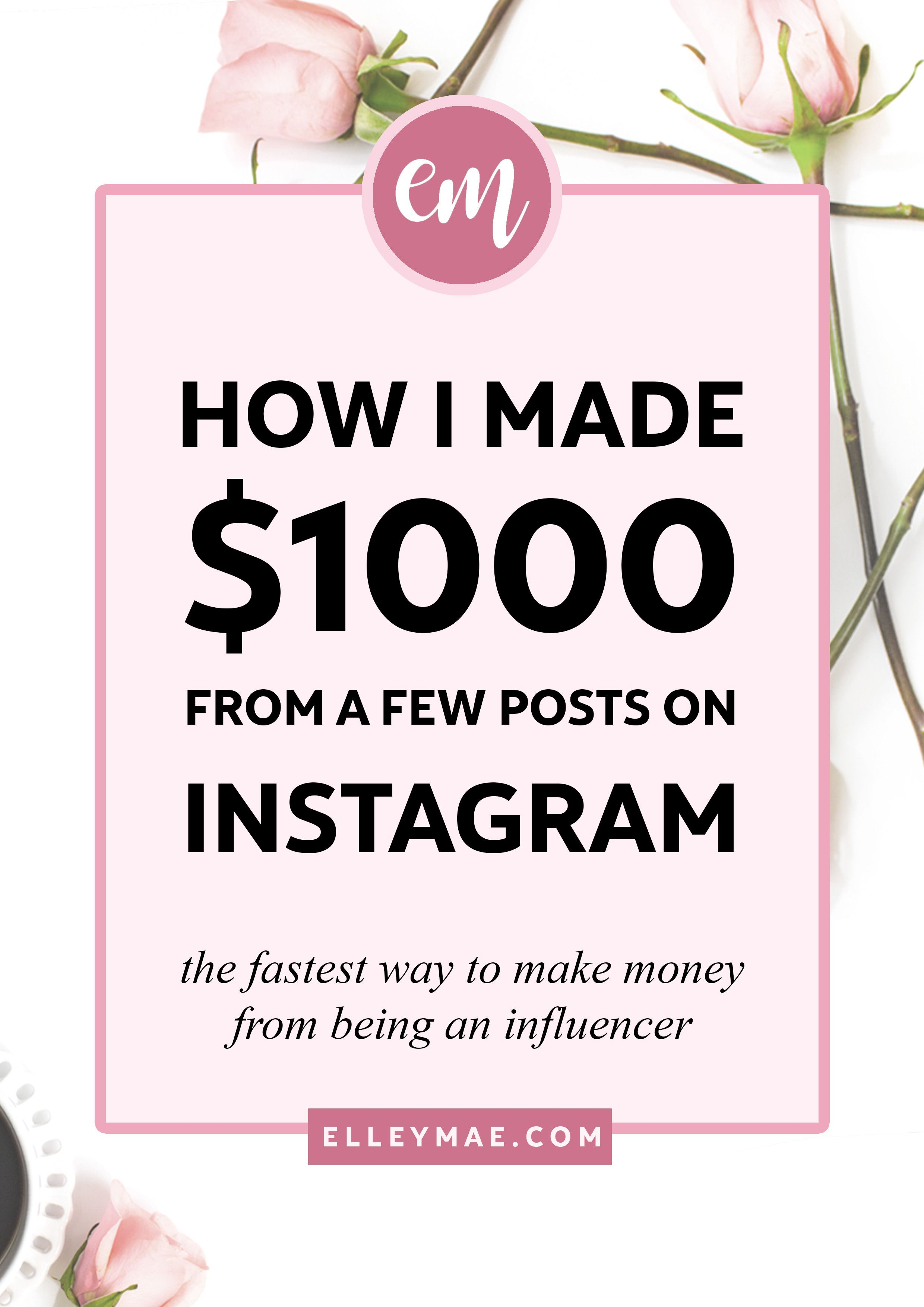 How I Made My First $1k from Sponsored Instagram Posts | How to Make Money on Instagram Fast - Love a good success story? Learn how I went from zero to 1 million in sales in 5 months with an e-commerce store.