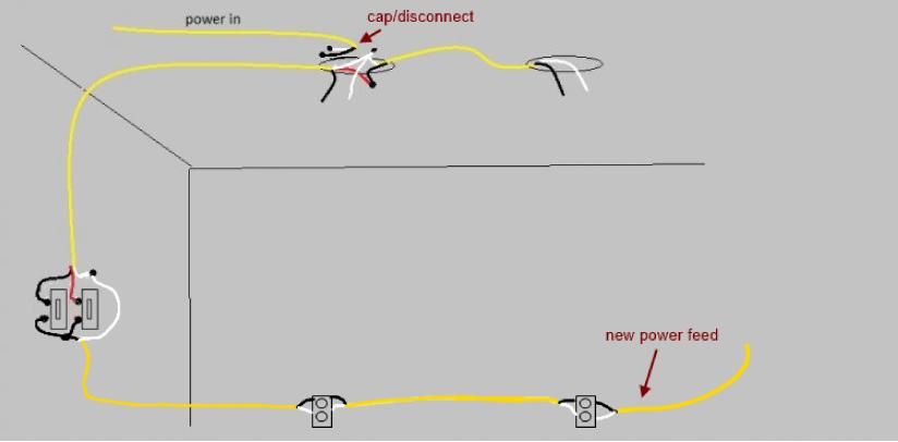 Daisy Chain Wiring Diagram Lighting