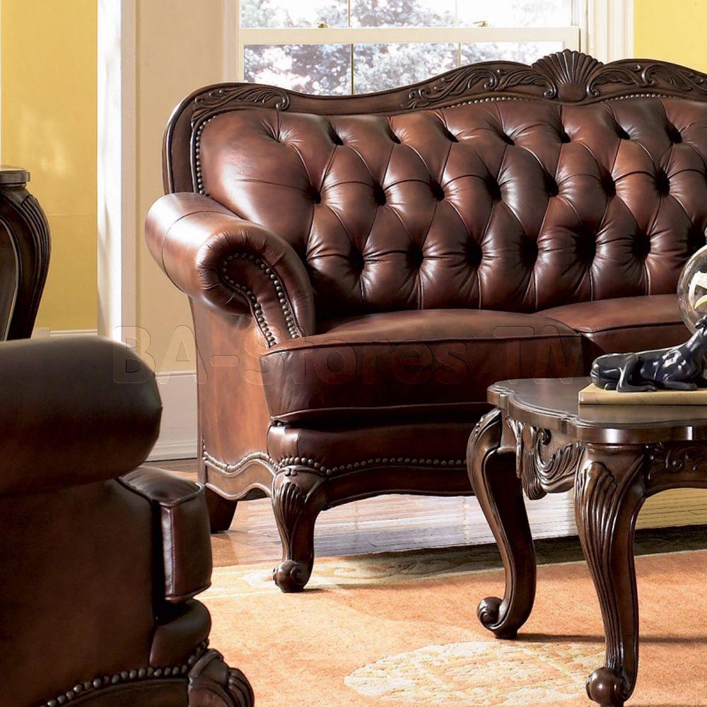 Victoria Clic Rolled Arm Sofa Coaster Co Sofas Coa 500681 9