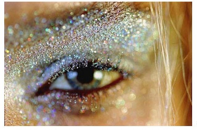 Marilyn Minter Frostbite The Glitter Eye From Serena S