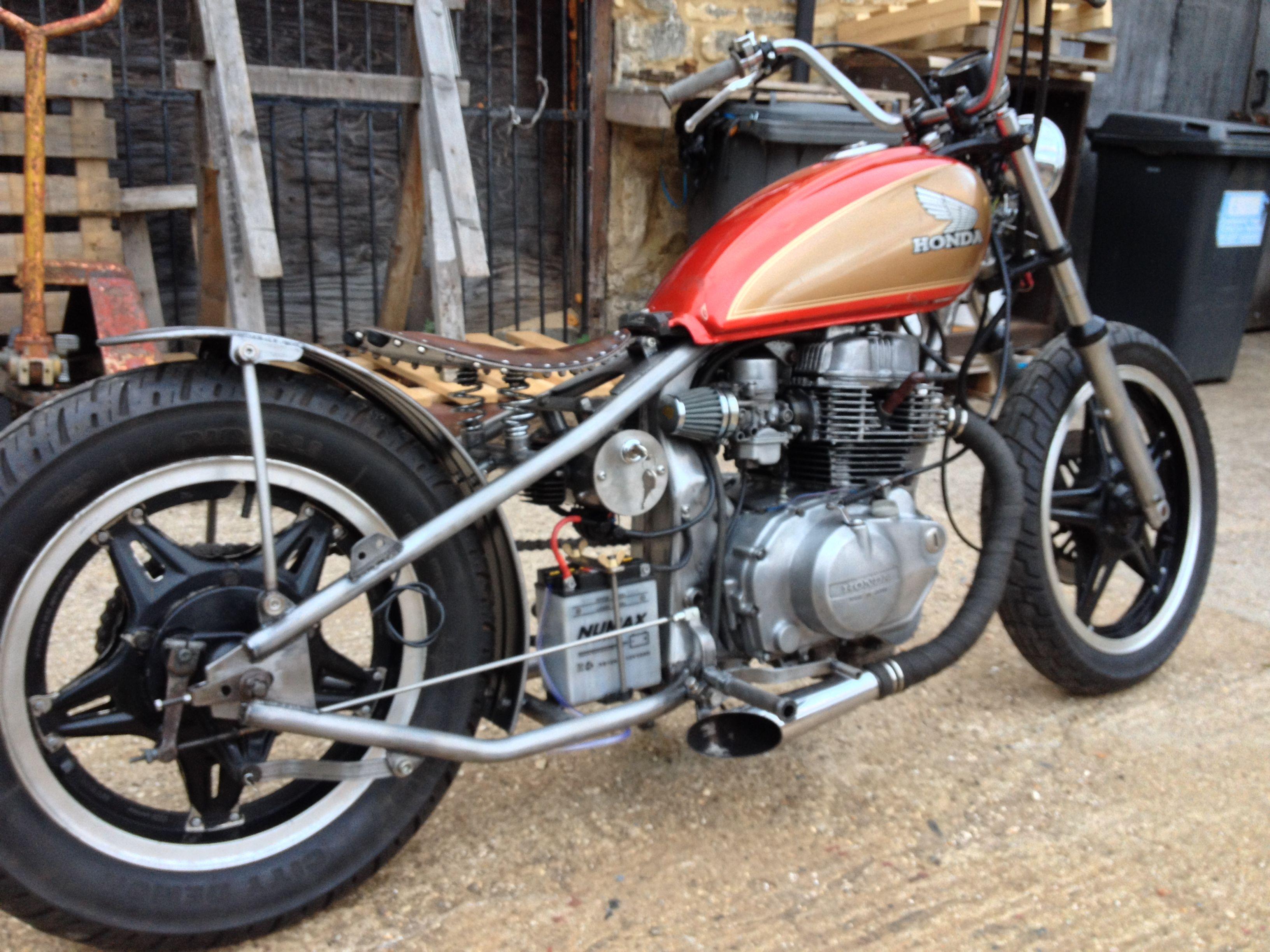 Honda cm 250 hardtail bobber Bikes Pinterest