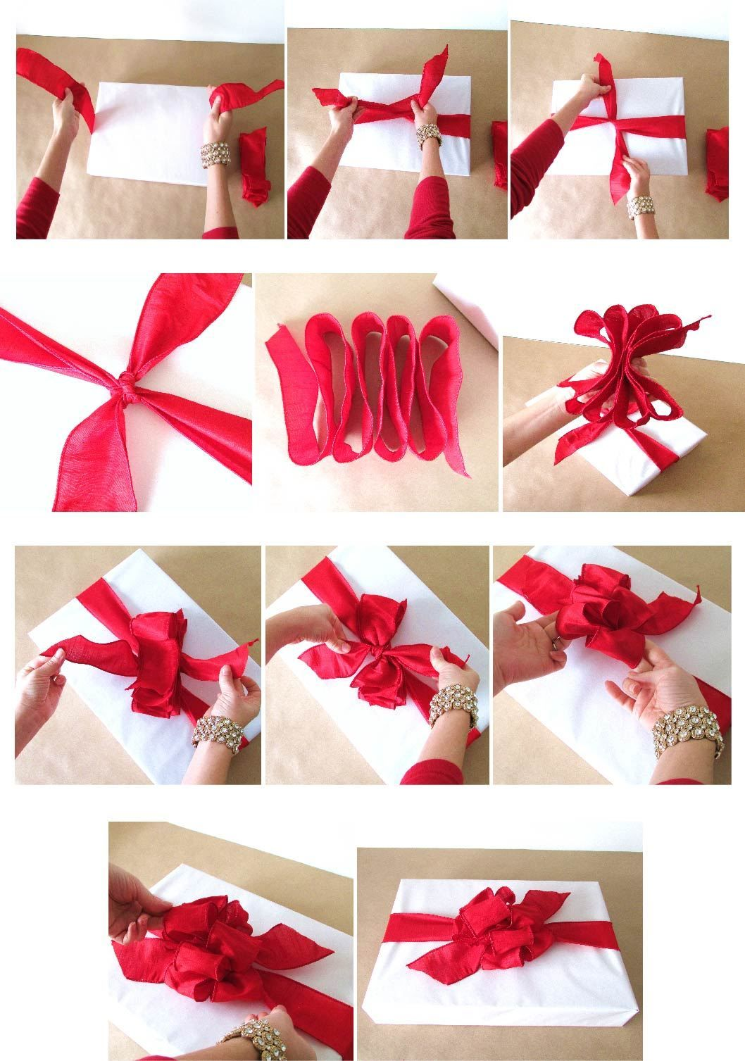 How To The Poufy Bow Gift Giving Gift Wrapping Gifts