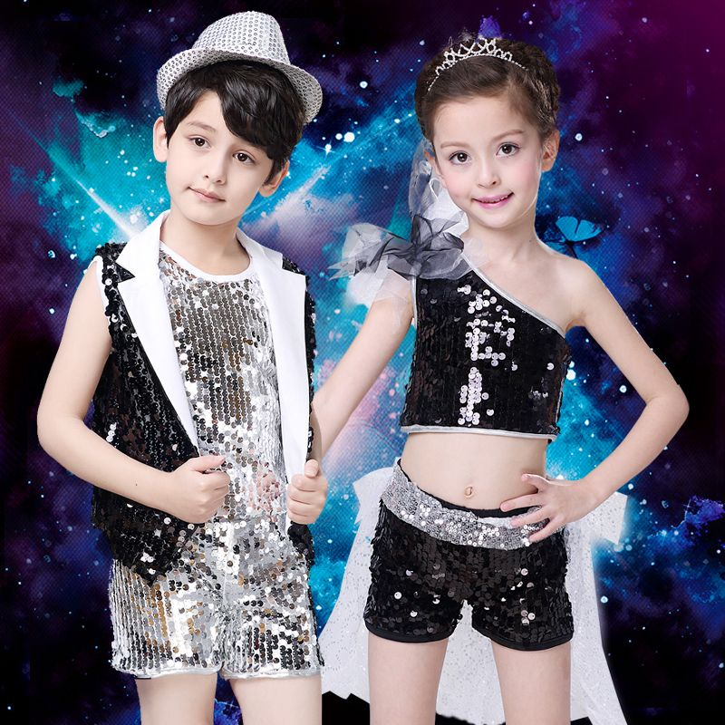 da2b30536 Click to Buy    New Jazz Dancing Dress Kids Modern Dance Performance ...