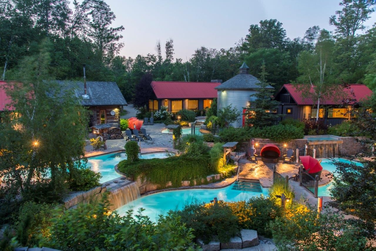 Hotels And Getaway Packages Scandinave Spa Blue Mountain Scandinave Spa Blue Mountain Outdoor Spa Blue Mountain Scandinavian Baths