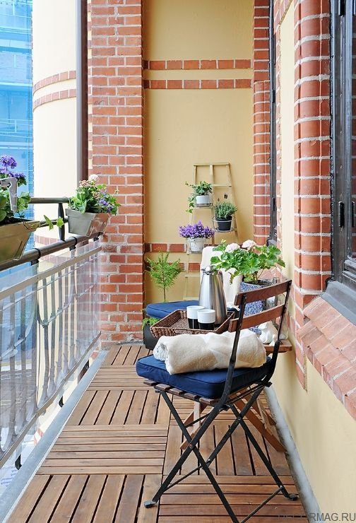 Cozy morning on the balcony terrazas pinterest for Terraza para balcon