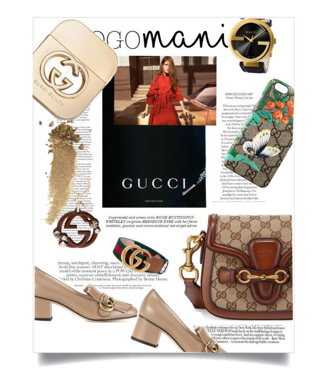 """""""Double G"""" by theitalianglam ❤ liked on Polyvore featuring Whiteley, Gucci, gucci and logomania"""